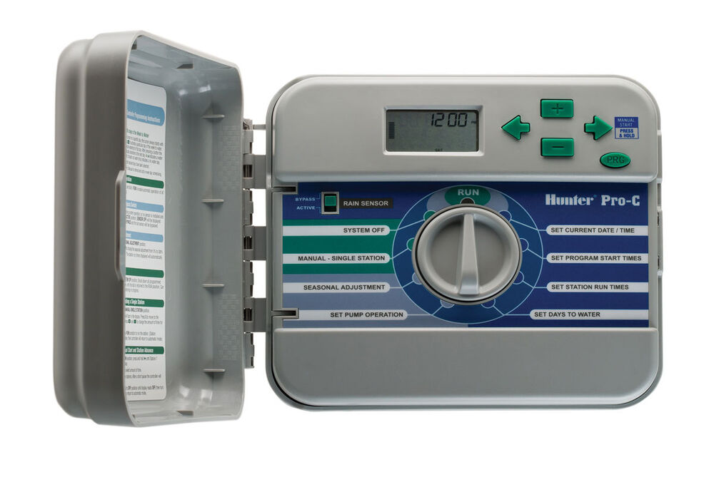 Hunter Pro C Conventional 12 Zone Indoor Timer Controller
