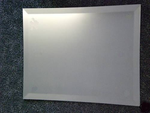 Frameless Bevelled Edge Wall Mirror 36 Quot X 24 Quot 91cm 61cm