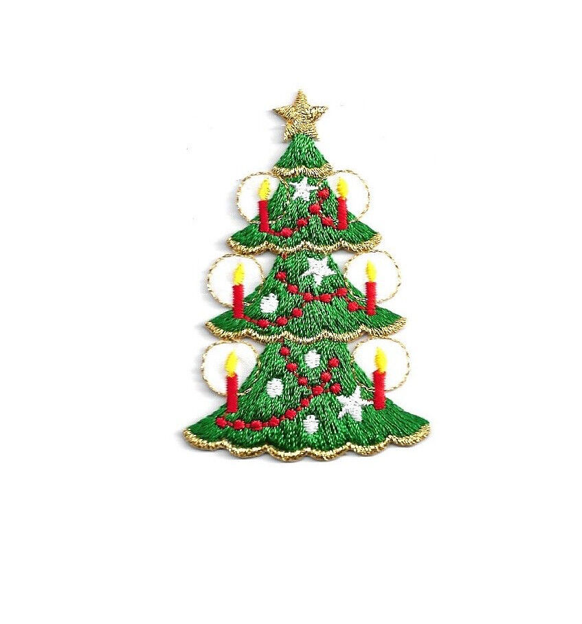 Christmas Tree Patch: ChristmasTree W/Candles