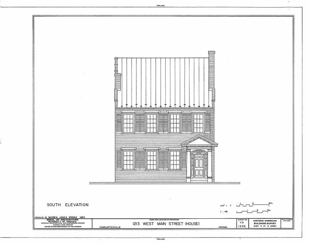 Authentic American Colonial Brick Town House Plans Narrow