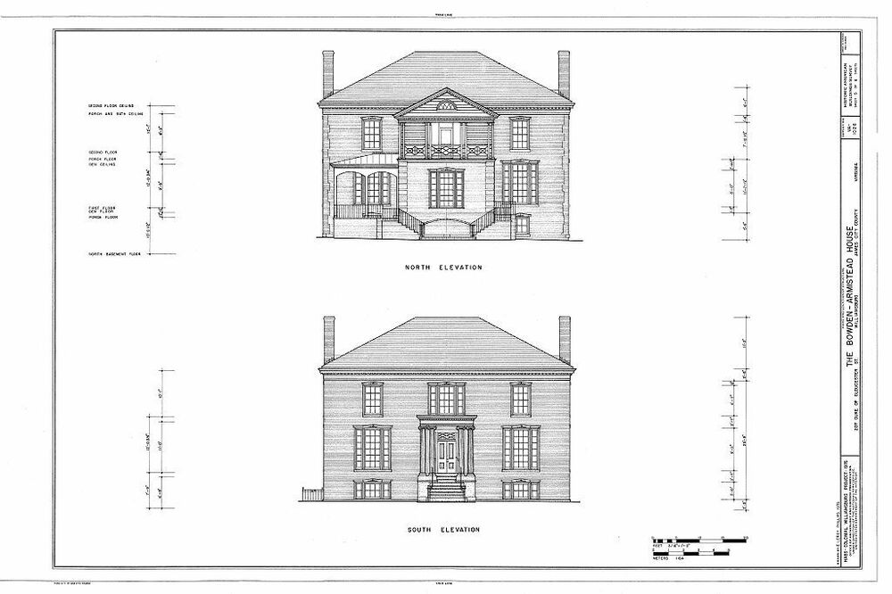 Historic colonial williamsburg house plans ebay for Williamsburg house plans