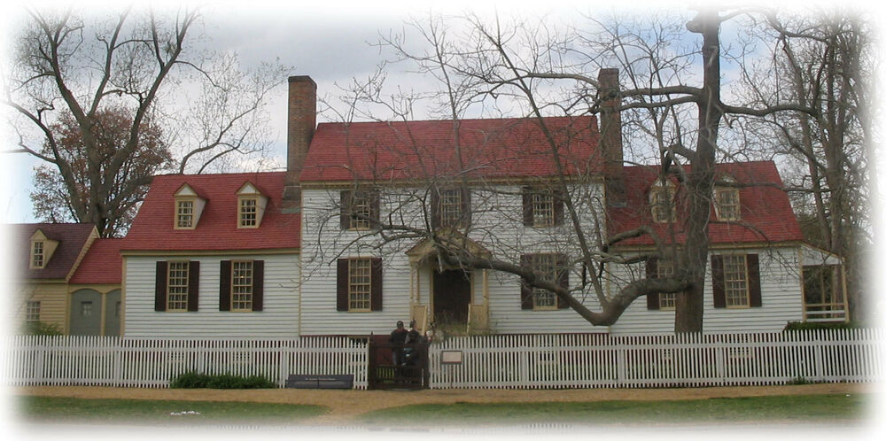 Authentic williamsburg colonial home plans traditional for Colonial country house plans