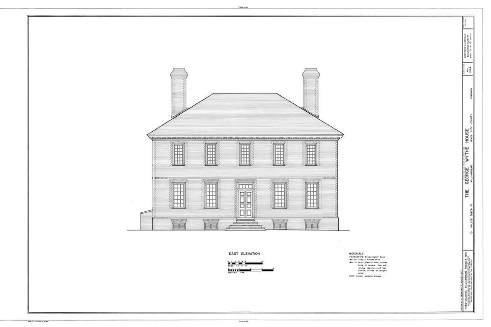 Traditional Colonial Brick Country House Plans