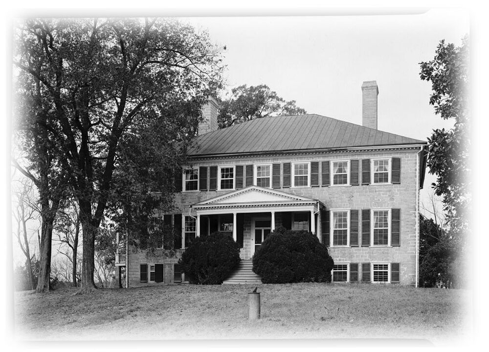 Home plans virginia plantation mansion w cottages ebay for Virginia farmhouse plans