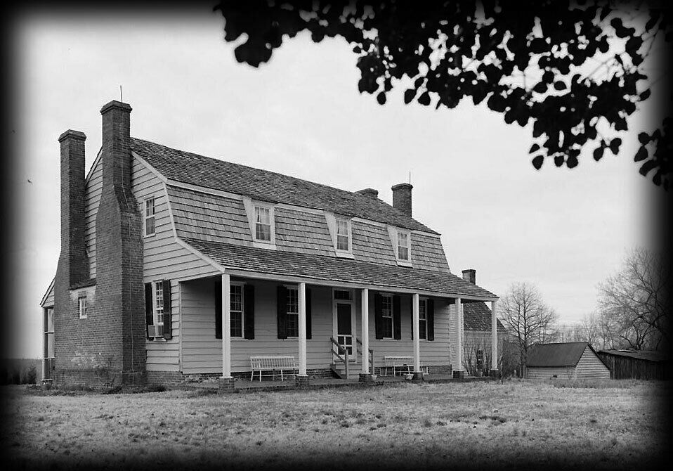 Dutch colonial farm house architectural plans ebay for Dutch colonial house plans