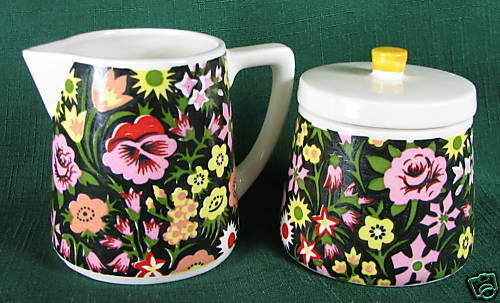 Vintage Napcoware Japan Import Sugar Bowl Amp Creamer Set Ebay