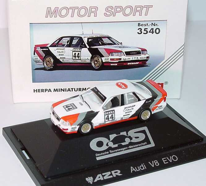 1 87 audi v8 evolution dtm 1991 azr jelinski ovp ebay. Black Bedroom Furniture Sets. Home Design Ideas