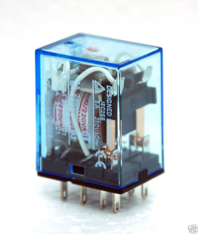 2pc Omron Relay My2n