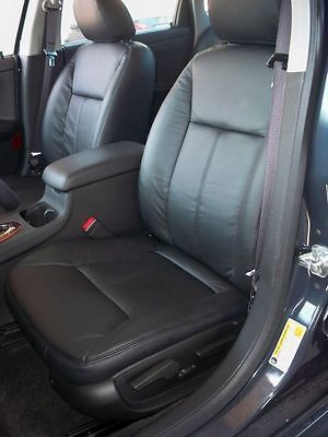 Leather Seat Covers >> 2006 - 2008 Impala Leather Interior seat cover - Black | eBay