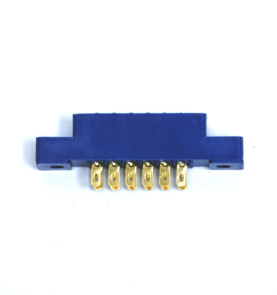 10pc Card Edge Connector LW-S6A2G 6Px2 Soldering Slot