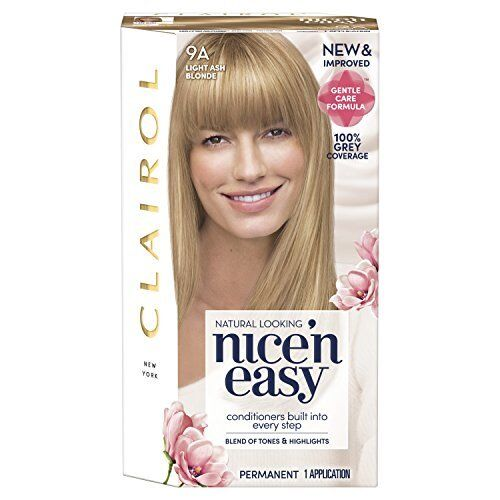 Clairol Nice N Easy Natural Light Ash Blonde 9a Former