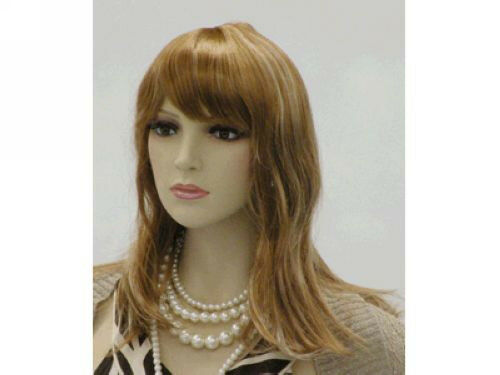 Hair Styling Mannequin Head: Female Wig Mannequin Head Hair #WG-SW174