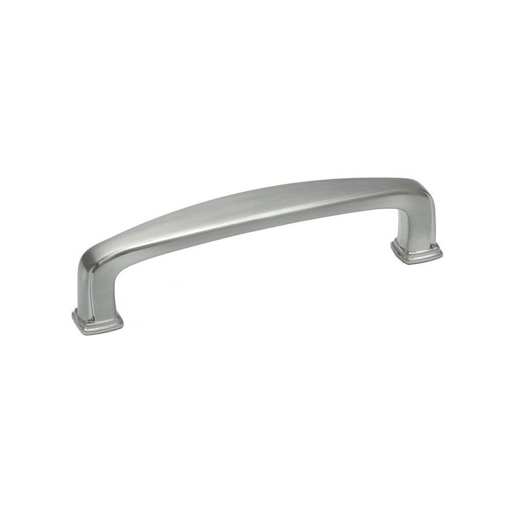 Kitchen Cabinet Pull Handles: Kitchen Cabinet Hardware Square Pulls Pu092 Satin Nickel