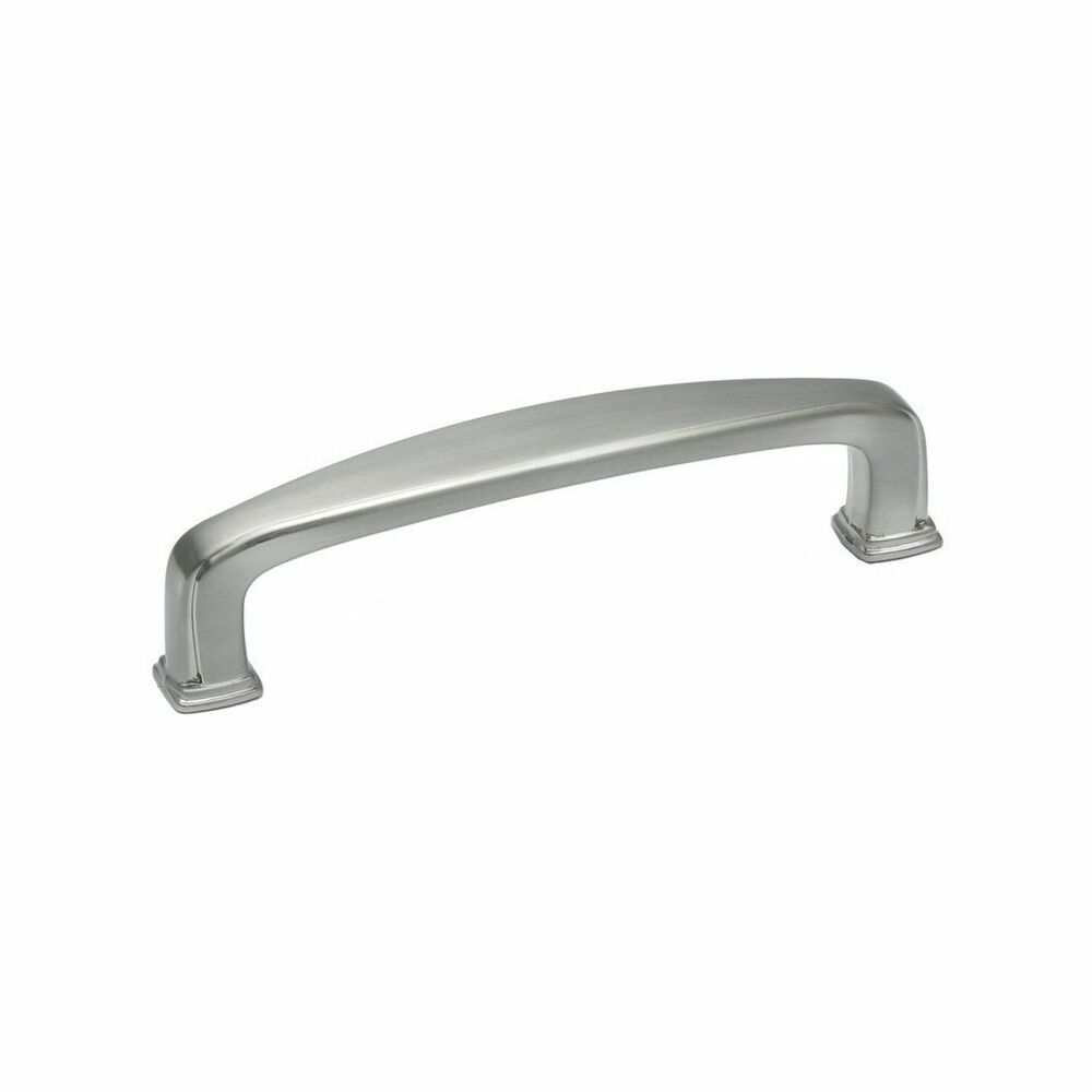 Kitchen Cabinet Hardware Square Pulls pu092 Satin Nickel