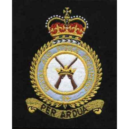 img-Lancashire embroidery Royal Air Force Reg Blazer Badge
