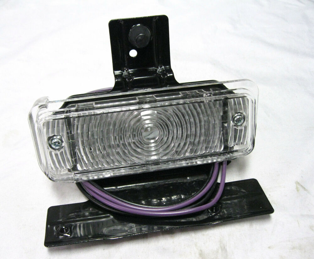1969 69 Chevy Chevelle Rh Parking Lamp Assembly Park Light