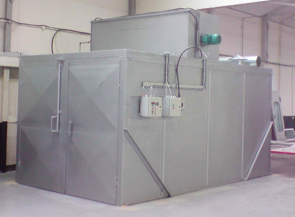 Powder coating cure oven ebay for Paint curing oven