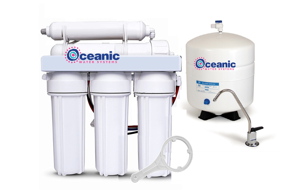 Oceanic Reverse Osmosis Water Filter System 5 Stage Ebay