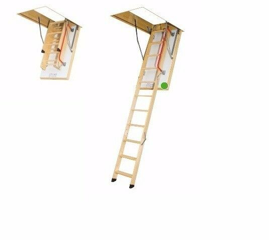 bodentreppe speichertreppe fakro ltk thermo 70 x 130 cm ebay. Black Bedroom Furniture Sets. Home Design Ideas