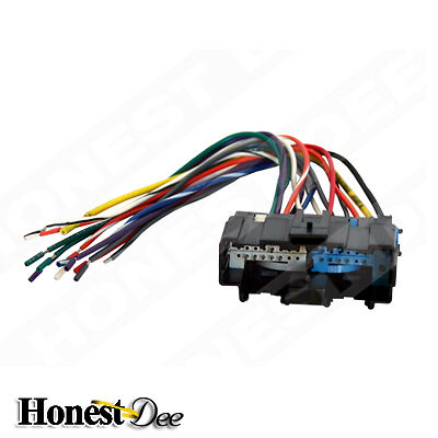 aftermarket car stereo  radio to saturn wiring  wire harness