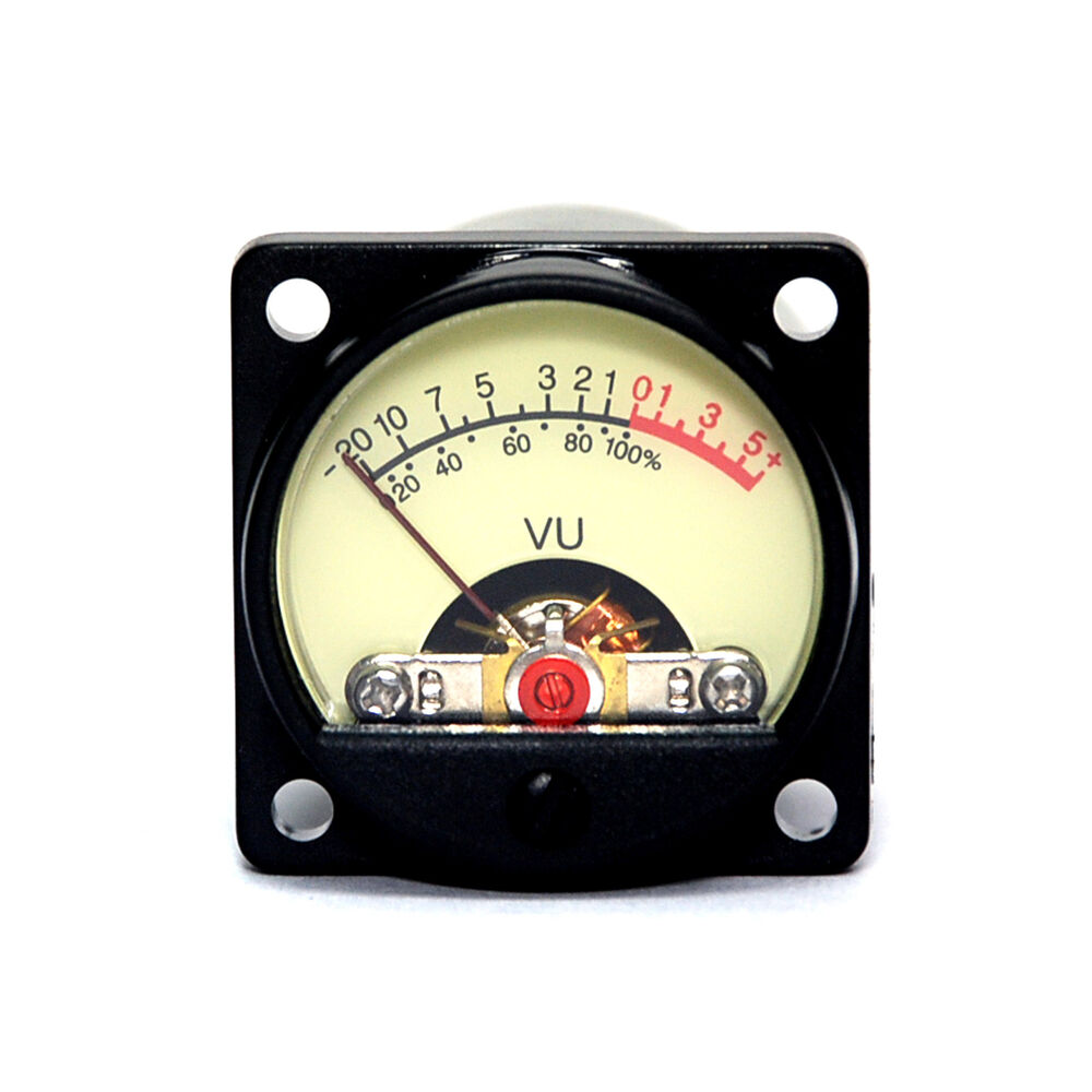 2pc Panel Vu Meter Tr