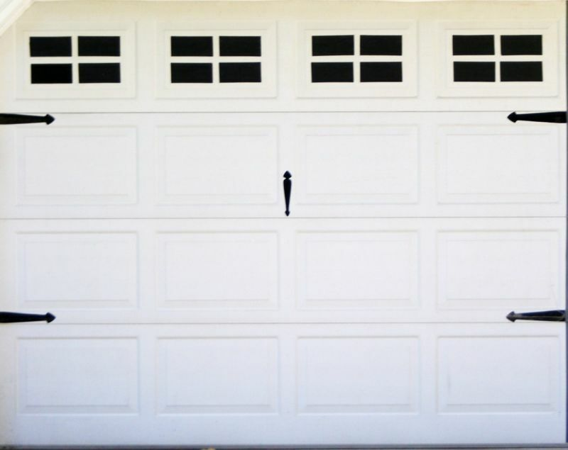 Fake Windows For Your Garage Door Carriage House Style For