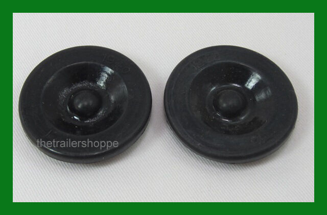 Grease Cap Black Rubber Plug Ez Lube Trailer Axle For