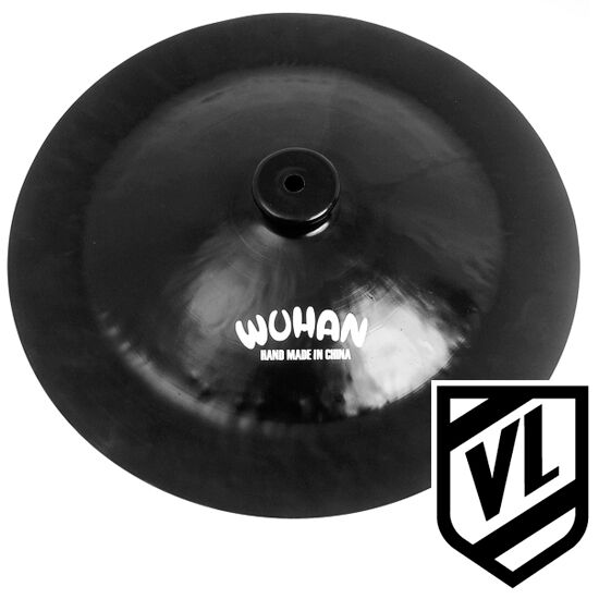 wuhan 16 black china cymbal for your drum kit wu10416b new ebay. Black Bedroom Furniture Sets. Home Design Ideas
