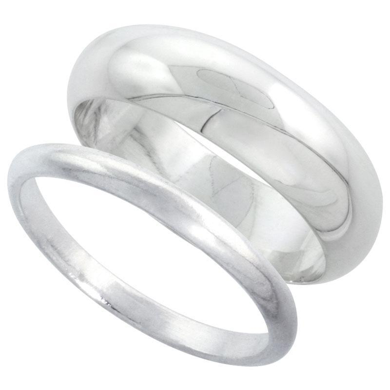 sterling silver plain band comfort fit ring solid 925 ebay