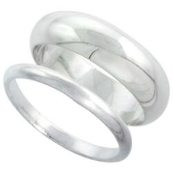 Kyпить Sterling Silver Plain Band Comfort Fit Ring Solid 925 на еВаy.соm