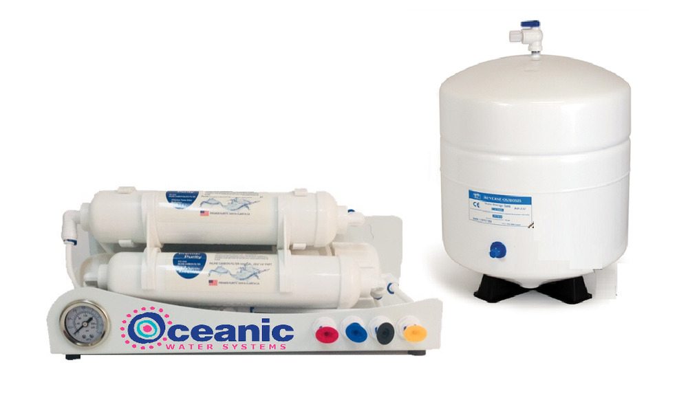 Compact Reverse Osmosis Water Filtration System For