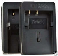 Delkin Dual Universal Charger Plates (2) Canon NB-2LH