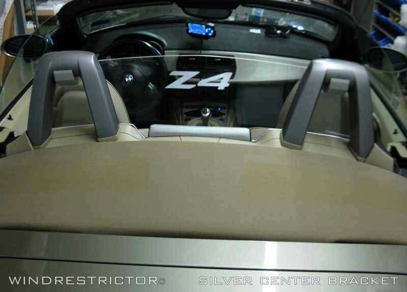 Bmw Z4 E85 Convertible Wind Deflector To Reduce Turbulence