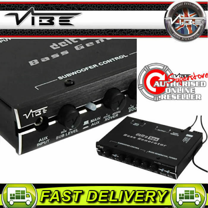 Taki Taki Lumba Mp3 Audio: Vibe Audio Delta Box 12v Car Sound System IPod IPhone MP3