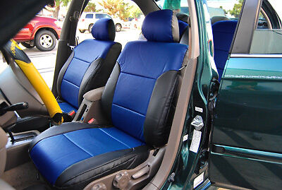 Honda Civic 1997 2002 Iggee S Leather Custom Fit Seat Cover 13colors Available Ebay