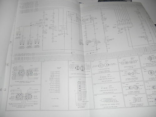 1998 Ford Louisville Aeromax Trucks Wiring Diagrams Oem