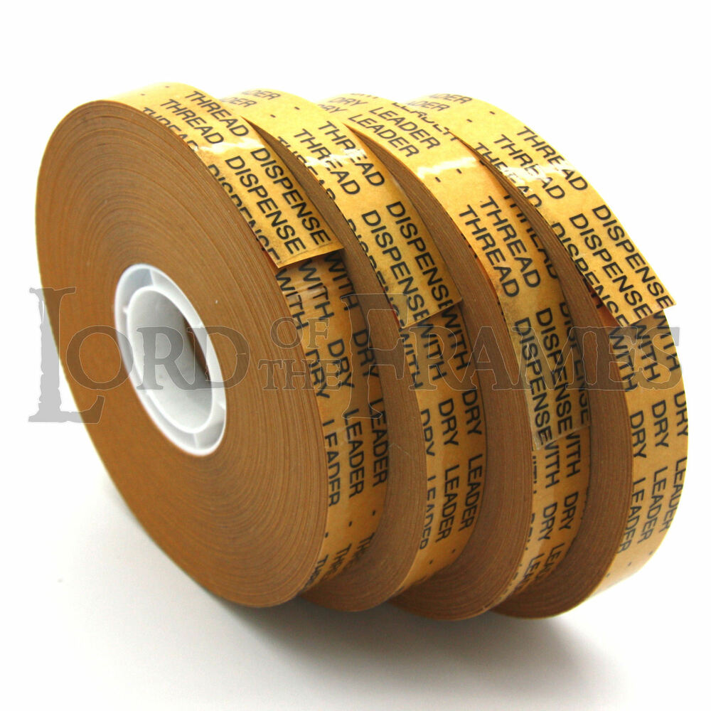 4 X Atg Tape 12mm X 50m Double Sided Adhesive Transfer
