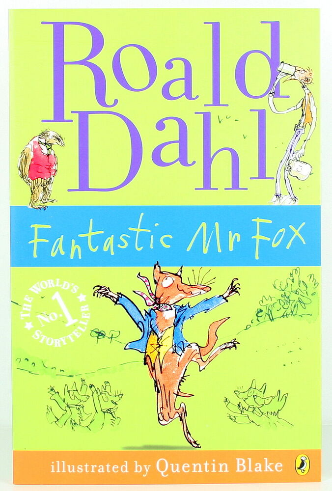 Illustrated Book Cover Uk ~ Roald dahl fantastic mr fox paperback quentin blake