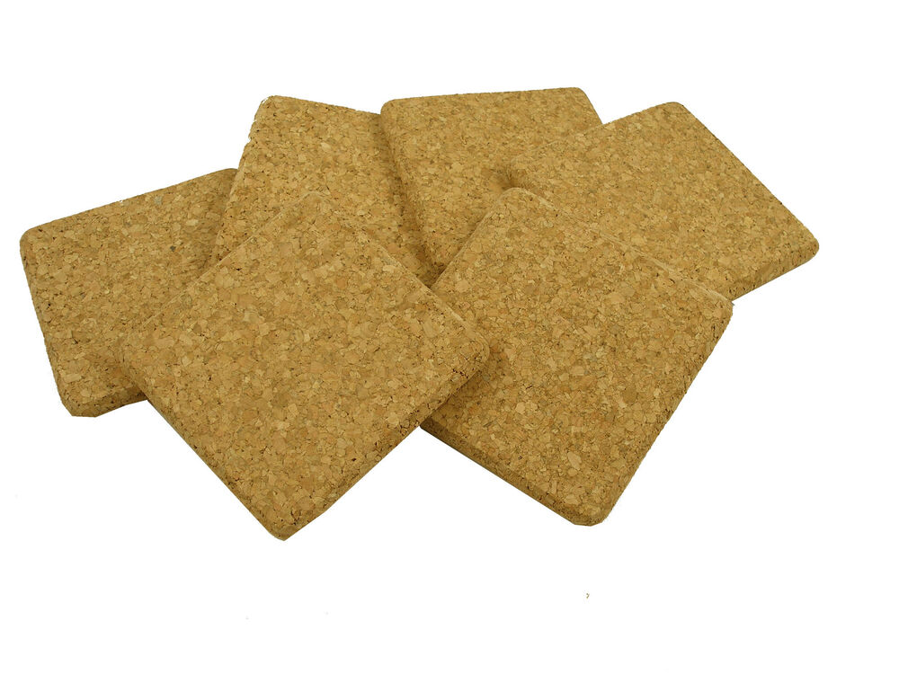 how to make cork backed placemats
