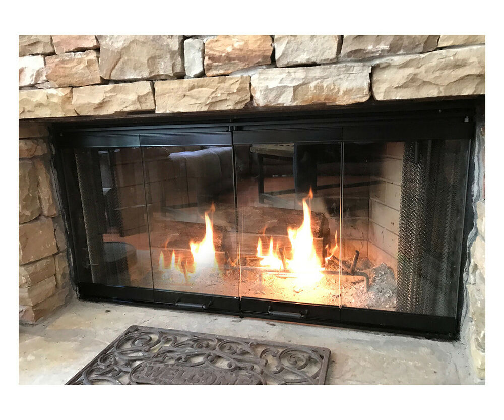 Fireplace Doors For Majestic Fireplaces 42 Quot Set Ebay