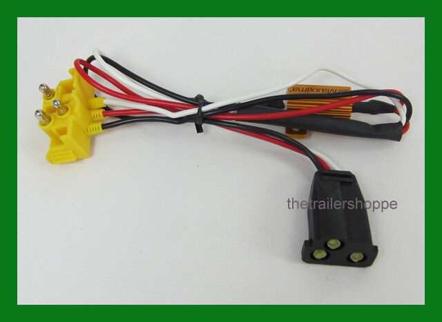 3 wire pigtail led turn signal load resistor equalizer | ebay wiring a resistor for led lights wiring diagram for led lights for trucks #3
