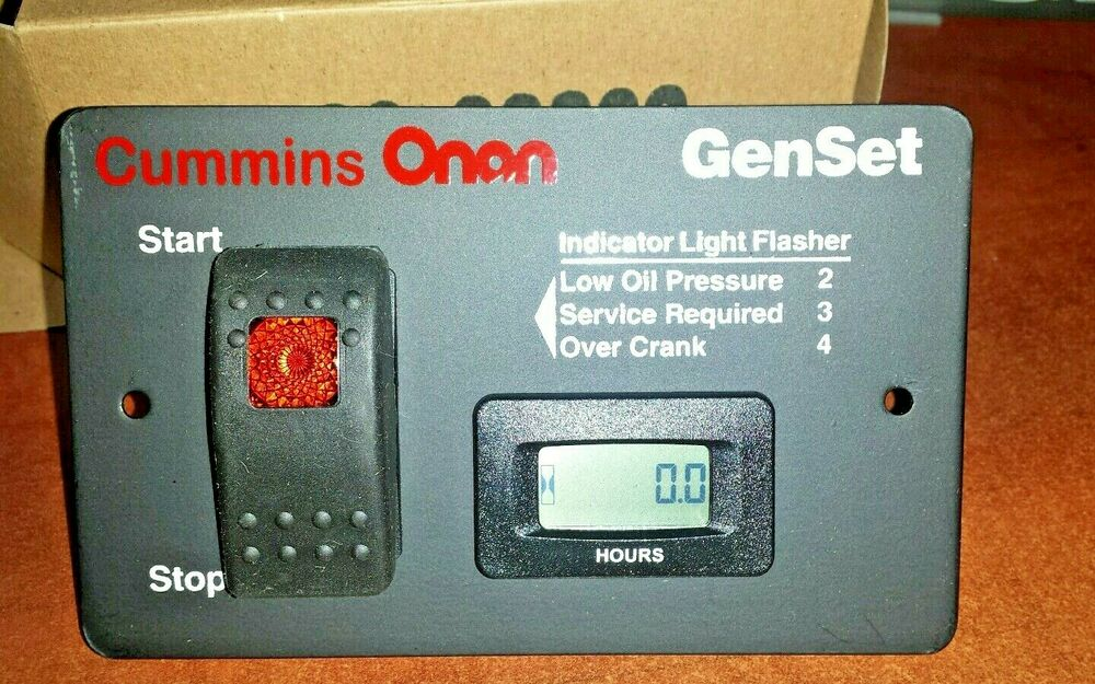 onan switch onan 12 volt remote start switch digital hour meter