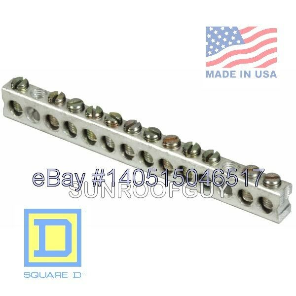 Square D Qo Homeline Grounding Bar Kit Pk12gta New 47569517358