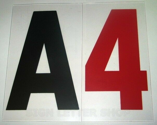 set 4 inch on 5quot 060 flat rigid marquee sign letters ebay With 5 inch marquee letters