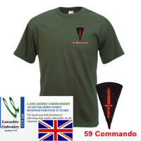 New 59 Commando RE Olive Green T Shirt Large ( Dagger