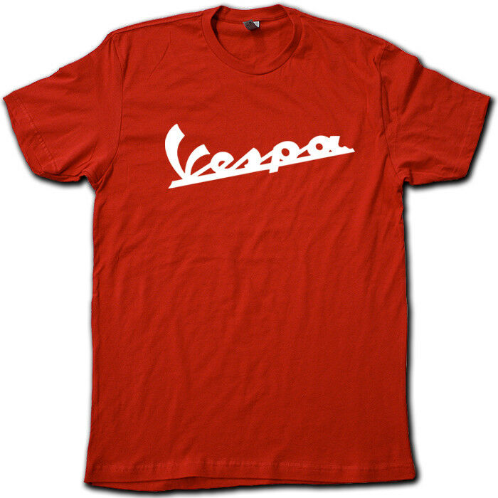 vintage old school vespa logo t shirt all colors ebay. Black Bedroom Furniture Sets. Home Design Ideas