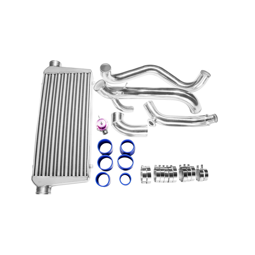 cx fmic intercooler aluminum piping kit   bov for sr20det