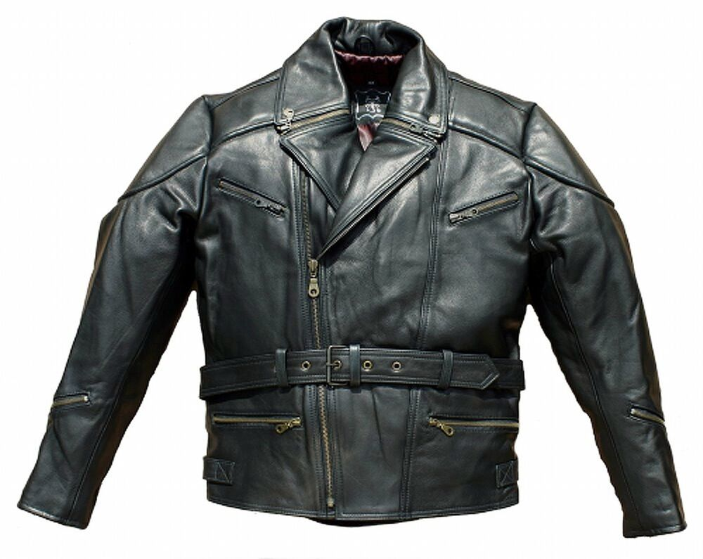 marlon brando chopper lederjacke harley touring herren motorradlederjacke ebay. Black Bedroom Furniture Sets. Home Design Ideas