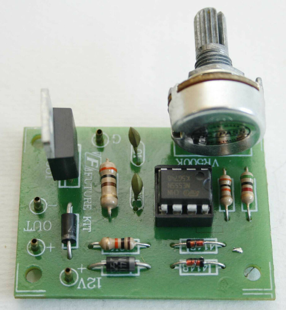 Dc Motor Speed Control Circuit Hho Pwm 12v 2a 20w Ic Ne555 Gt Circuits A Transistor Driver Ebay