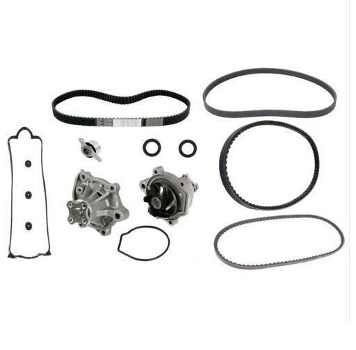 honda accord 86  water pump seals  u0026 tensioner kit